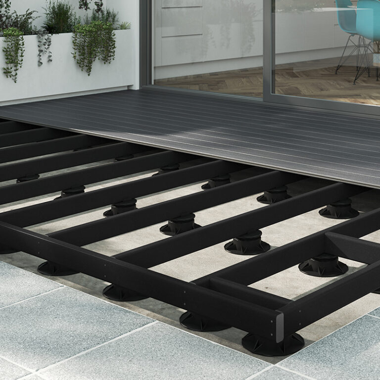 Decking support beams