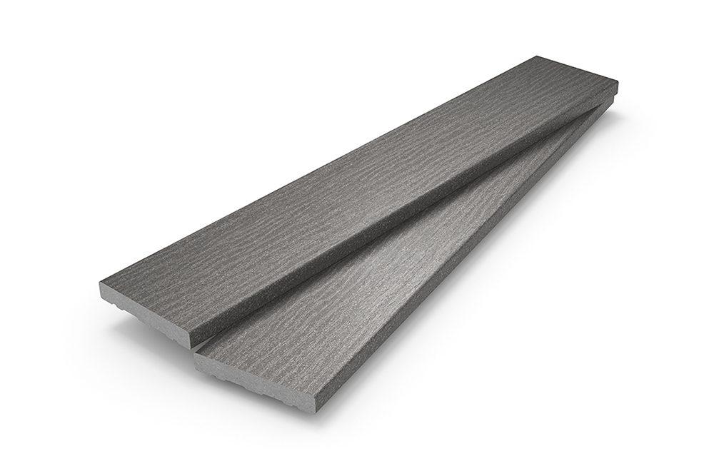 Light grey decking boards