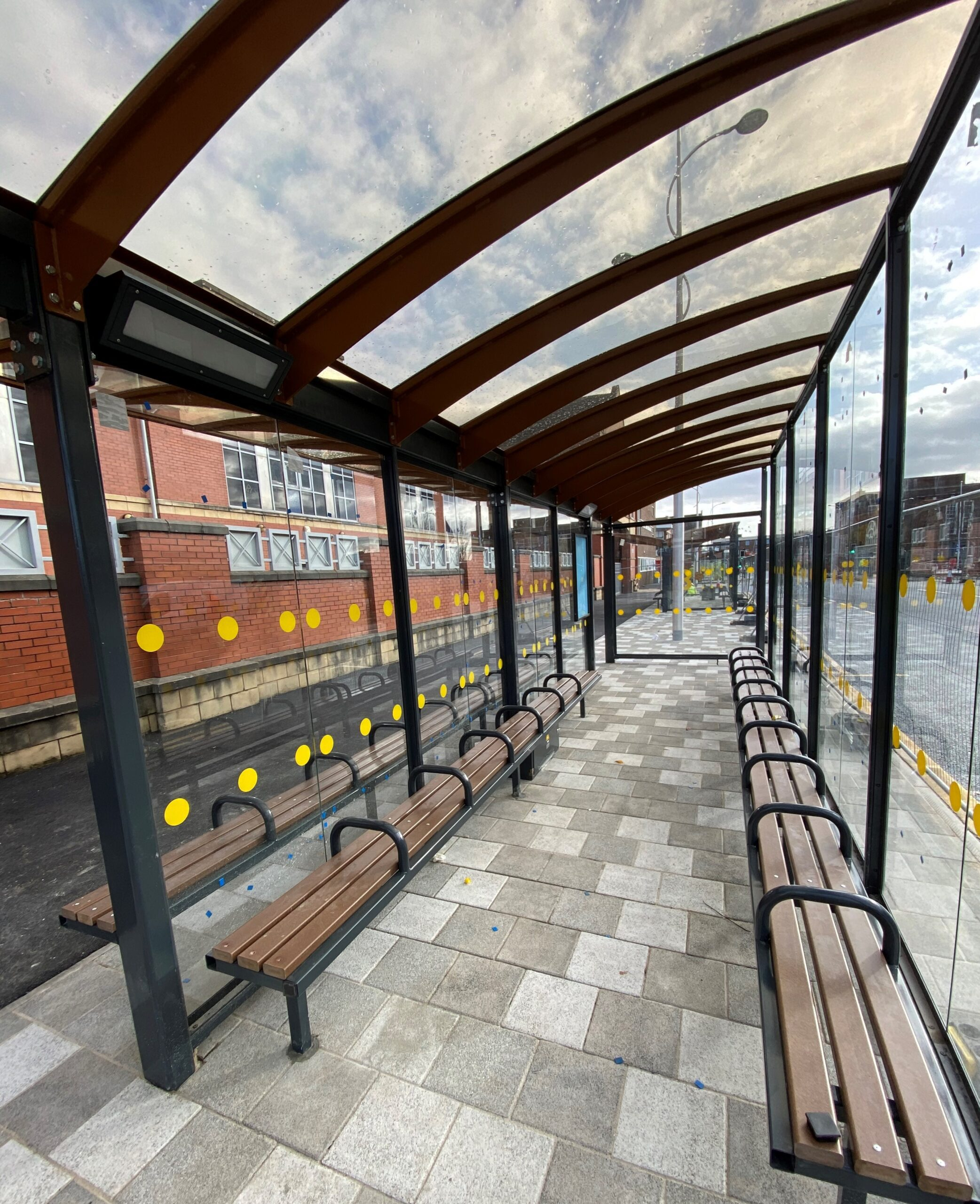 Shelter Solutions Bus Shelter Seating