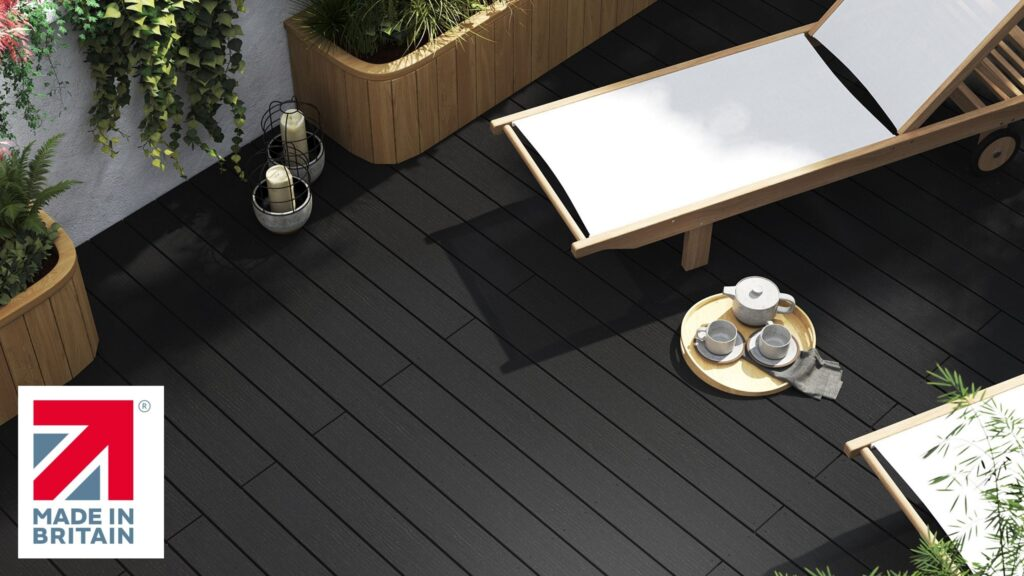 Made in Britain composite decking